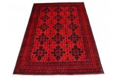 Kobierzec z Afganistanu Khan Mohammadi 100% wełniany monochromatyczny orientalny dywan ręcznie wykonany 200x300cm