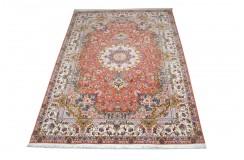 Dywan Tabriz 50Raj wełna kork+jedwab najwyższej jakości dywan z Iranu ok 200x300cm