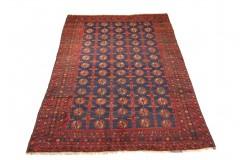 Beludż (Belutsch) - dywan ręcznie tkany z Pakistanu 100% Wełna 158x256cm antyk