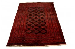 Dywan Afganistan Saruk geometryczny dywan Tekke z oryginalnym wzorem 100% wełniany