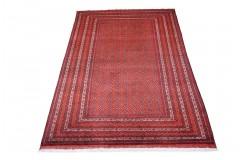 Dywan Afganistan Khuwaje Turkmeński geometryczny Tekke oryginalny 100% wełniany najwyższa jakość 200x300cm