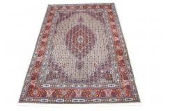 Ręcznie tkany ekskluzywny dywan Mud Birjand 200x300cm piękny oryginalny gęsty majstersztyk
