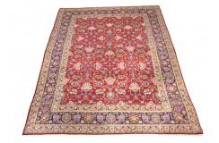 Luksusowy dywan Kashan (Keszan) Old z Iranu 100% wełna ok 200x300cm tradycyjny perski oryginał pólantyczny