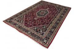 Wełniany ręcznie tkany dywan Bidjar Herati z Indii 200x300cm orientalny beżowy