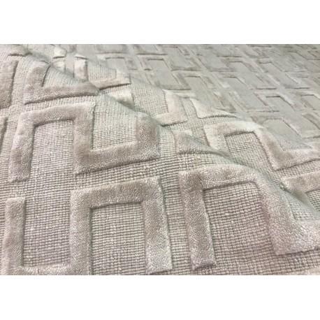 Beżowo szary ekskluzywny dywan Gabbeh Loribaft Indie 170x240cm 100% wełniany