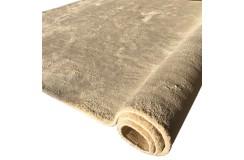 Biały lśniący dywan JEDWABNY Ręcznie tkany 170x240cm ręcznie tkany (Indie)