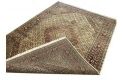 Ręcznie tkany dywan Tebriz Mahi 100% wełna 250x350cm Indie piękny perski wzór klasyczny