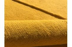 Żółty kilim Durry 100% wełniany dywan płasko tkany 190x290cm dwustronny Indie