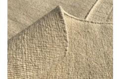 Beżowy kilim Durry 100% wełniany dywan płasko tkany 190x290cm dwustronny Indie