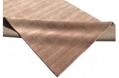 Gładki 100% wełniany dywan Gabbeh Handloom różowy 200x300cm bez wzorów