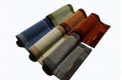 Welniany ręcznie tkany dywan Nepal Premium 170x240cm beżowy
