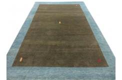 Salonowy dywan gabbeh 200x300cm wełna argentyńska brązowy