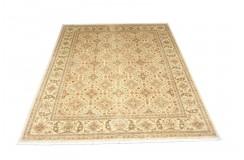 Dywan Ziegler Farahan Klassik 100% wełna kamienowana ręcznie tkany luksusowy 246x317cm klasyczny jasny