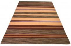 W pasy kilim Durry 100% wełniany dywan płasko tkany 170x240cm dwustronny Indie