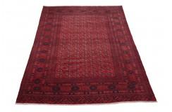 Afgan Mauri oryginalny 100% wełniany nowy dywan z Afganistanu 200x300cm ręcznie gęsto tkany Buchara wart 29200zł