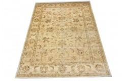 Dywan Ziegler Farahan 100% wełna kamienowana ręcznie tkany luksusowy 200x300cm klasyczny beżowy