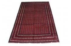 Afgan Mauri oryginalny 100% wełniany nowy dywan z Afganistanu 200x300cm ręcznie gęsto tkany Buchara wart 20000zł
