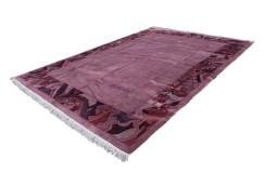 Salonowy nowoczesny dywan ręcznie tkany 300X400cm oryginalny Nepal Potala premium pastelowy RÓŻ