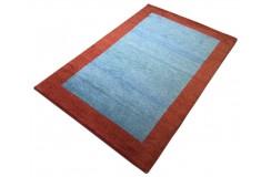 Kolorowy nowoczesny dywan indyjski Gabbeh 100% wełna 120x180cm geometryczny