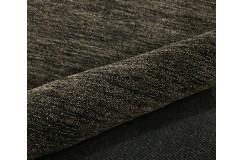 Gładki 100% wełniany dywan Gabbeh Handloom brązowy ciemny 120x180cm bez wzorów