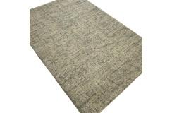 Designerski nowoczesny dywan wełniany RUG COLLECTION 120x180cm Indie 2cm gruby beżowy