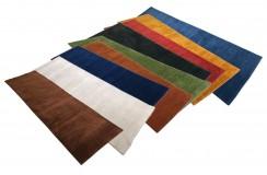 Dywany wełniane gabbeh bez wzorów różne kolory i rozmiary Indie chodniki, prostokotne, kwadratowe