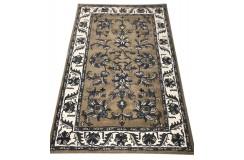 Dywan Persian 100% wełniany 155x245cm z Indii brązowy tradycyjny