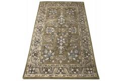 Dywan Persian 100% wełniany 155x245cm z Indii brązowy jasny tradycyjny