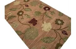 Kolorowy dywan RUG COLLECTION do salonu nowoczesny design 100% wełna 150x240cm Indie