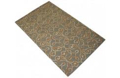 Kolorowy abstrakcyjny dywan RUG COLLECTION do salonu nowoczesny design 100% wełna 150x240cm Indie