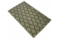Marokańska Koniczyna dywan RUG COLLECTION do salonu nowoczesny design 100% wełna 150x240cm Indie