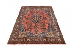 Tradycyjny piękny dywan Saruk z Iranu 213x310cm 100% wełna oryginalny ręcznie tkany perski