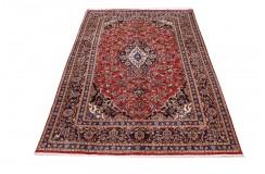 Ręcznie tkany oryginalny dywan Kashan (Keszan) z Iranu wełna 200x311cm perski