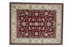 Dywan Persian Ziegler 100% wełniany 250x300cm z Indii klasyczny czerwony gruby