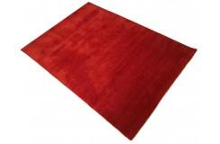 Czerwony ekskluzywny dywan Gabbeh Loribaft Indie 120x180cm 100% wełniany