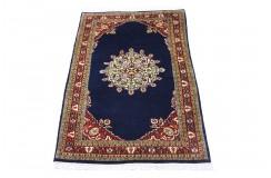 Kolorowy bogaty dywan Indo Kerman 100% wełna ok 120x200cm