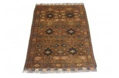Oryginalny 100% wełniany dywan Afgan Kargahi Antyk 130x188cm ręcznie tkany