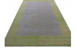 Salonowy dywan gabbeh 200x300cm wełna argentyńska beżowo żółty