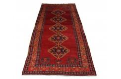 Perski wełniany recznie tkany dywan Heriz z ornamentami ok 180x370cm