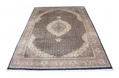 Ciemny klasyczny dywan Tabriz z Indii 300x400cm 100% wełna (Indo-Tabriz) perski wzór