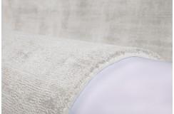 Biały lśniący designerski dywan w pasy wiskoza Obsession my Maori 220 Ivory 160x230cm