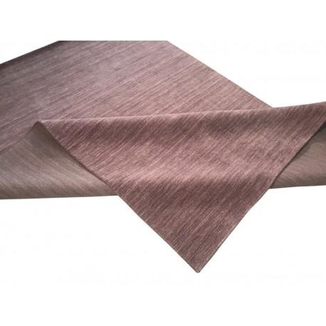 Gładki 100% wełniany dywan Gabbeh Handloom Lori liliowy bez wzorów, różne wymiary