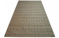 Designerski dywan z wiskozy i bawełny 150x210 żakardowy patchwork