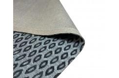 Designerski dywan z wiskozy i bawełny 150x240cm żakardowy patchwork