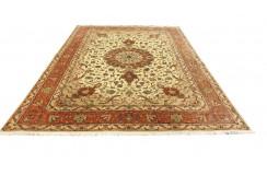Dywan Tabriz 50Raj wełna kork+jedwab najwyższej jakości dywan z Iranu ok 250x350cm wart 154 200zł