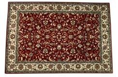 Czerwony klasyczny perski gęsty dywan 100% wełna Indie