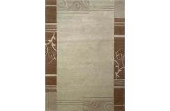 Welniany ręcznie tkany dywan Nepal Premium beżowy 170x240cm