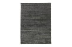 Gładki dywan Gabbeh Brinker Carpets Palermo Casle Grey 240x340cm wełna wiskoza