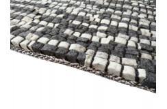 100% Wełniany naturalny dywan Stone Brown 170x240cm wart 4 500zł brązy wełna filcowana