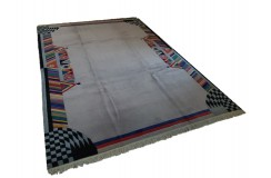 Salonowy nowoczesny dywan ręcznie tkany 250x340cm Nepal Tybet nowozelandzka wełna owcza